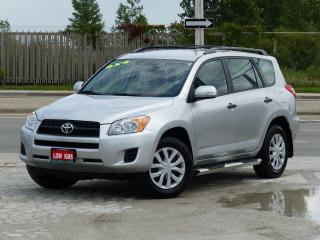 Used 2010 Toyota RAV4 4WD,CERTIFIED,LOADED,LOW KMS,POWER OPTIONS,CRUISE for sale in Mississauga, ON