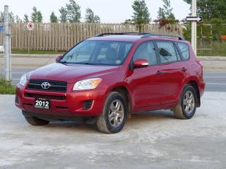 Used 2012 Toyota RAV4 4WD,NO-ACCIDENT,CERTIFIED,BLUETOOTH,REMOTE START for sale in Mississauga, ON