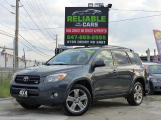 Used 2008 Toyota RAV4 SPORT,V6,4WD,LEATHER,CERTIFIED,FULLY LOADED, for sale in Mississauga, ON