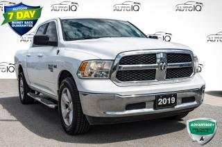 Used 2019 RAM 1500 Classic SLT LOW MILEAGE CREW CAB   LOCAL TRADE for sale in Innisfil, ON