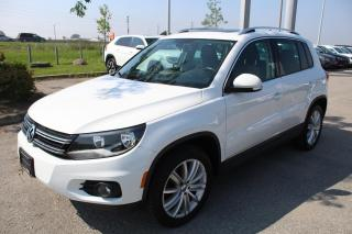 Used 2017 Volkswagen Tiguan 2.0T Comfortline 4Motion for sale in Whitby, ON