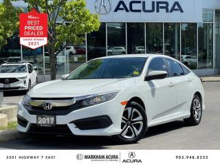 Used 2017 Honda Civic LX CVT Sedan for sale in Markham, ON