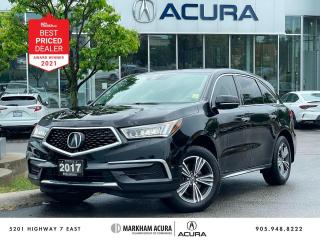 Used 2017 Acura MDX SH-AWD for sale in Markham, ON