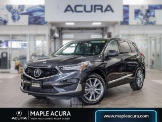 Used 2019 Acura RDX Elite, No Accidents, Acura Certified for sale in Maple, ON
