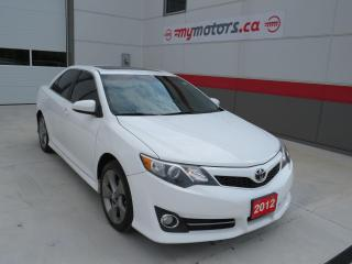 Used 2012 Toyota Camry SE with Sunroof for sale in Tillsonburg, ON