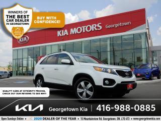 Used 2012 Kia Sorento EX AWD | 1 OWNR | PANO ROOF | NAV | LTHR | B/T for sale in Georgetown, ON