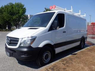 Used 2016 Mercedes-Benz Sprinter 2500 Cargo Van 144-inch Wheelbase Diesel Rear Shelving for sale in Burnaby, BC