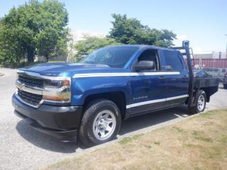 Used 2017 Chevrolet Silverado 1500 Flat Deck 6.5 foot Crew Cab Short Box 2WD for sale in Burnaby, BC
