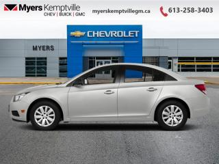 Used 2014 Chevrolet Cruze 1LT  - Bluetooth -  OnStar for sale in Kemptville, ON