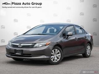 Used 2012 Honda Civic Sdn LX for sale in Bolton, ON