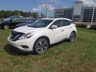 Used 2017 Nissan Murano Platinum for sale in Dieppe, NB