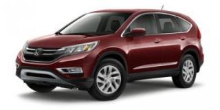 New 2016 Honda CR-V SE for sale in Moose Jaw, SK