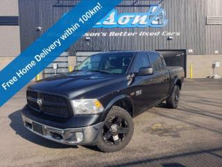 Used 2016 RAM 1500 Outdoorsman - Navigation, Reverse Camera, Bluetooth, Cruise Control, Keyless Entry, Alloys & More! for sale in Guelph, ON