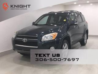 Used 2012 Toyota RAV4 Limited 4WD | Leather | Sunroof | for sale in Regina, SK