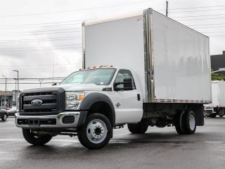 Used 2015 Ford F-550 F550 Regular Cab XL 2WD with 16 ft Box and Ramp for sale in Ottawa, ON