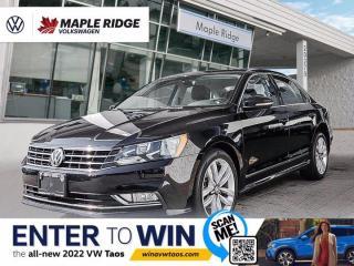 Used 2016 Volkswagen Passat HIGHLINE for sale in Maple Ridge, BC