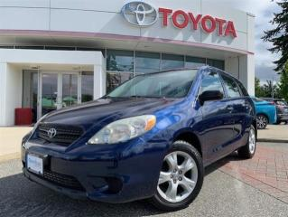 Used 2005 Toyota Matrix 4Dr Wagon FWD for sale in Surrey, BC