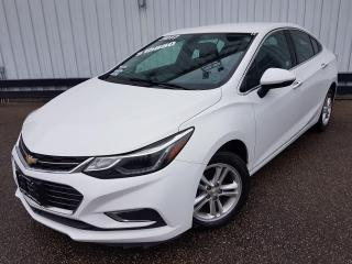 Used 2017 Chevrolet Cruze Premier *LEATHER-HEATED SEATS* for sale in Kitchener, ON