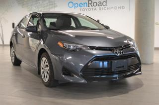 Used 2018 Toyota Corolla 4-door Sedan LE CVTi-S for sale in Richmond, BC
