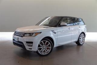 Used 2017 Land Rover Range Rover Sport V8 Supercharged Autobiography Dynamic for sale in Langley City, BC