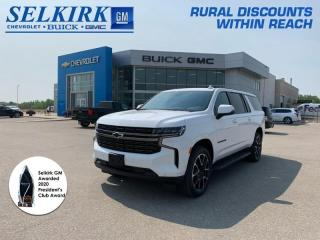 New 2021 Chevrolet Suburban RST for sale in Selkirk, MB