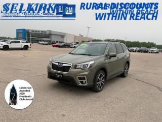 Used 2019 Subaru Forester 2.5i Limited w/ Eyesight for sale in Selkirk, MB