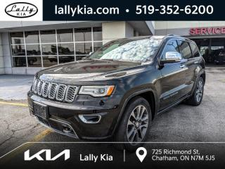 Used 2017 Jeep Grand Cherokee 4WD V8 Overland #3.99 % rate. for sale in Chatham, ON