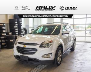 Used 2017 Chevrolet Equinox LT for sale in Prince Albert, SK