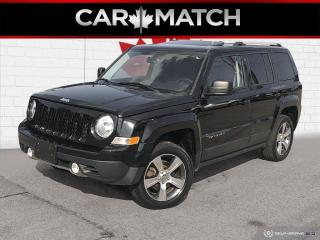 Used 2016 Jeep Patriot HIGH ALTITUDE 4WD / NAV / LEATHER / SURNOOF for sale in Cambridge, ON
