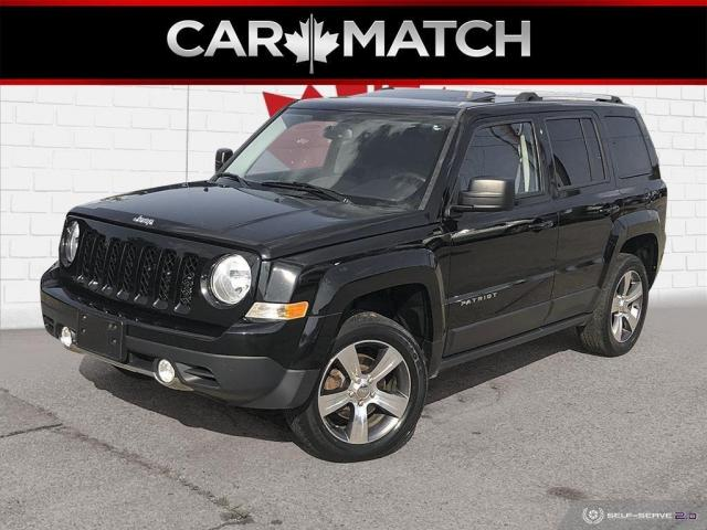 2016 Jeep Patriot HIGH ALTITUDE 4WD / NAV / LEATHER / SURNOOF