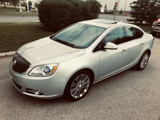 Used 2012 Buick Verano Low Kms Top Of The Line Features for sale in Mississauga, ON