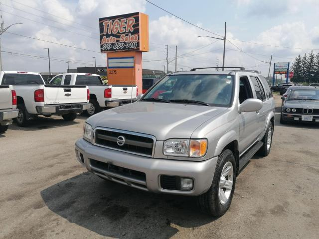 2003 Nissan Pathfinder 4X4*LEATHER*LOADED*GOOD SHAPE*AS IS SPECIAL