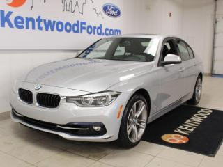 Used 2018 BMW 3 Series 330i xDrive   Heated Leather   Sunroof   NAV   NO Accidents for sale in Edmonton, AB