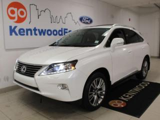 Used 2013 Lexus RX 350 AWD | One Owner Trade | Heated/Cooled Leather | NAV for sale in Edmonton, AB