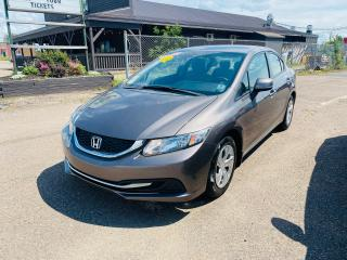 Used 2013 Honda Civic LX / BRAND NEW TIRES / LOW KMS! for sale in Truro, NS