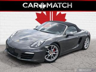 Used 2014 Porsche Boxster NO ACCIDENTS / LEATHER / 6-SPEED for sale in Cambridge, ON