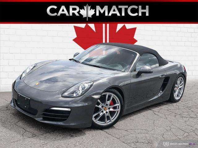 2014 Porsche Boxster NO ACCIDENTS / LEATHER / 6-SPEED