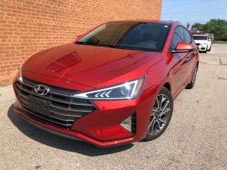 Used 2019 Hyundai Elantra 1 Owner, Limited, Leather, Roof, Alloys for sale in Oakville, ON