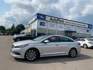 Used 2016 Hyundai Sonata Limited NAV   HEATED SEATS   PANORAMIC ROOF   REAR SUNBLINDS   for sale in Brampton, ON