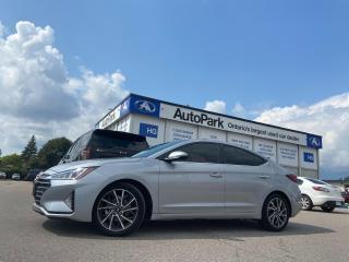 Used 2020 Hyundai Elantra Ultimate NAV | SUNROOF | BLIND SPOT SENSOR | LANE ASSIST | for sale in Brampton, ON