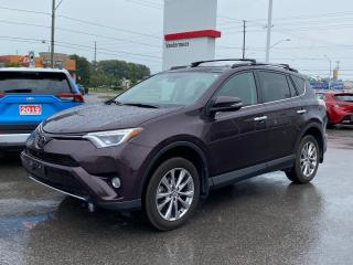 Used 2017 Toyota RAV4 Limited LIMITED-ONE OWNER BOUGHT+SERVICED HERE! for sale in Cobourg, ON