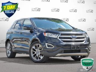 Used 2017 Ford Edge Titanium | Awd | Vista Sunroof | Navigation!! for sale in Oakville, ON
