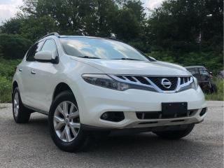 Used 2014 Nissan Murano for sale in Waterloo, ON
