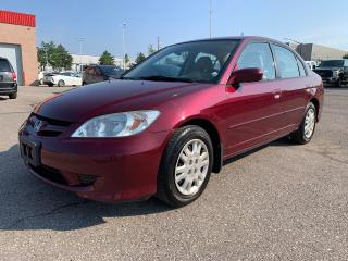 Used 2004 Honda Civic LX for sale in Milton, ON