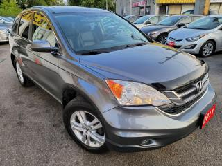 Used 2011 Honda CR-V EX-L/4WD/AUTO/LEATHER/ROOF/LOADED/ALLOYS for sale in Scarborough, ON
