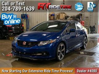 Used 2014 Honda Civic SEDAN Si for sale in Winnipeg, MB