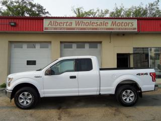 Used 2017 Ford F-150 XLT SUPER CAB 4X4 SHORT BOX for sale in Edmonton, AB