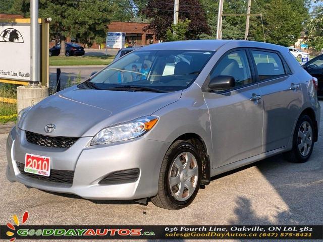2010 Toyota Matrix LOW KM|NO ACCIDENT|WARRANTY|CERTIFIED