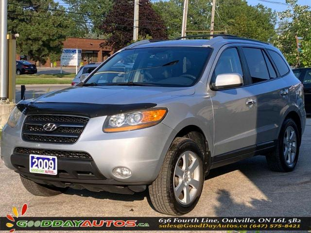 2009 Hyundai Santa Fe Limited|ONE OWNER|LOW KM|NO ACCIDENT|AWD|CERTIFIED