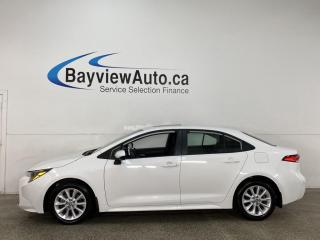 Used 2020 Toyota Corolla LE - AUTO! SUNROOF! REVERSE CAM! ALLOYS! + MORE! for sale in Belleville, ON